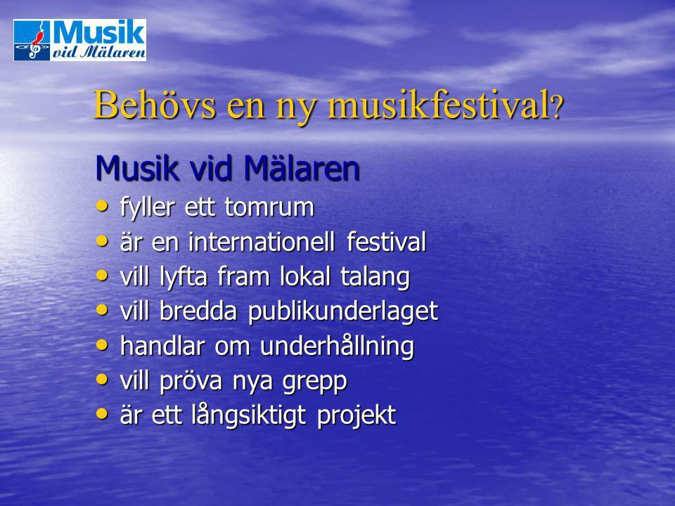 Behövs en ny musikfestival