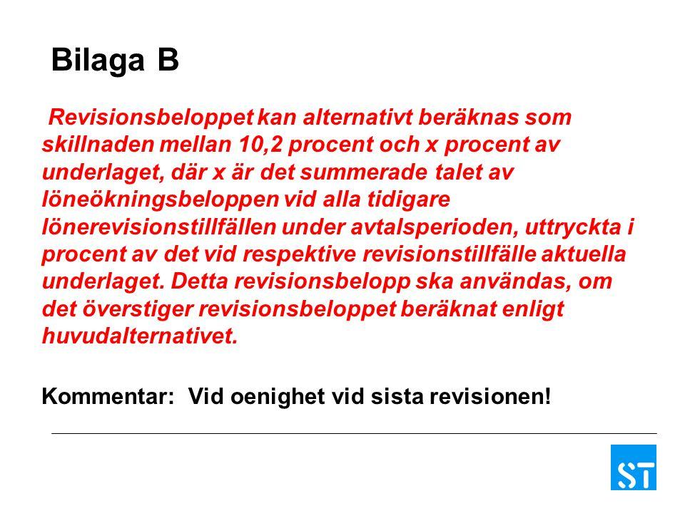 Bilaga B