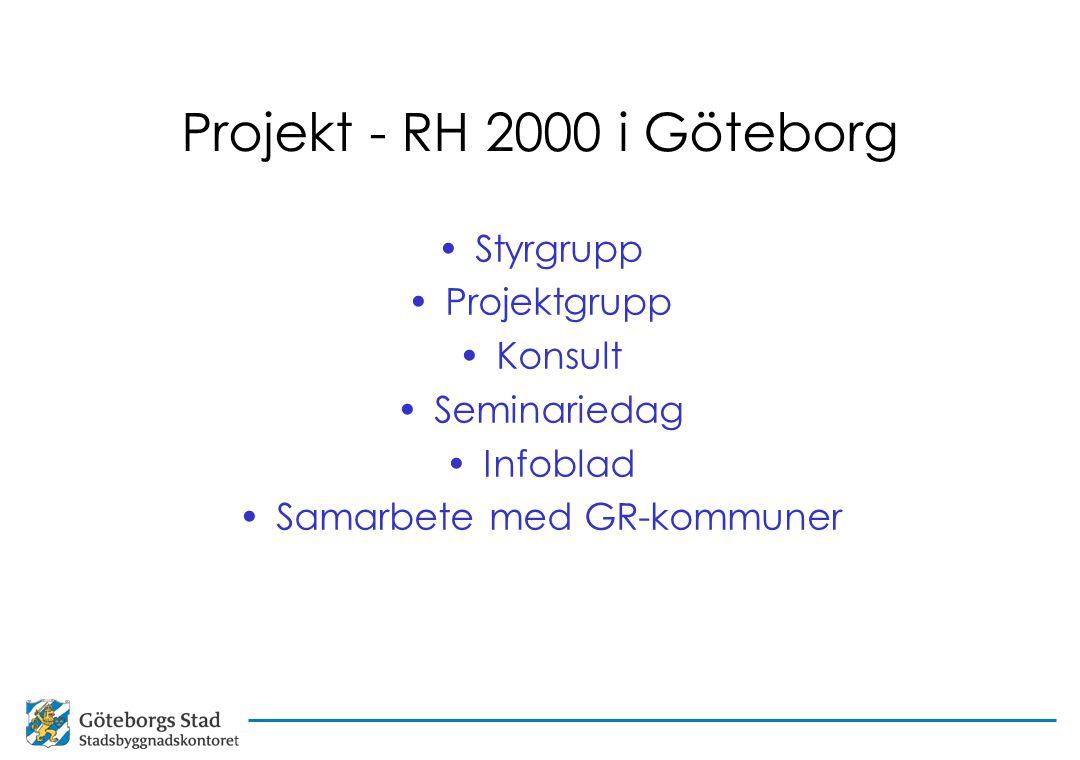 Samarbete med GR-kommuner