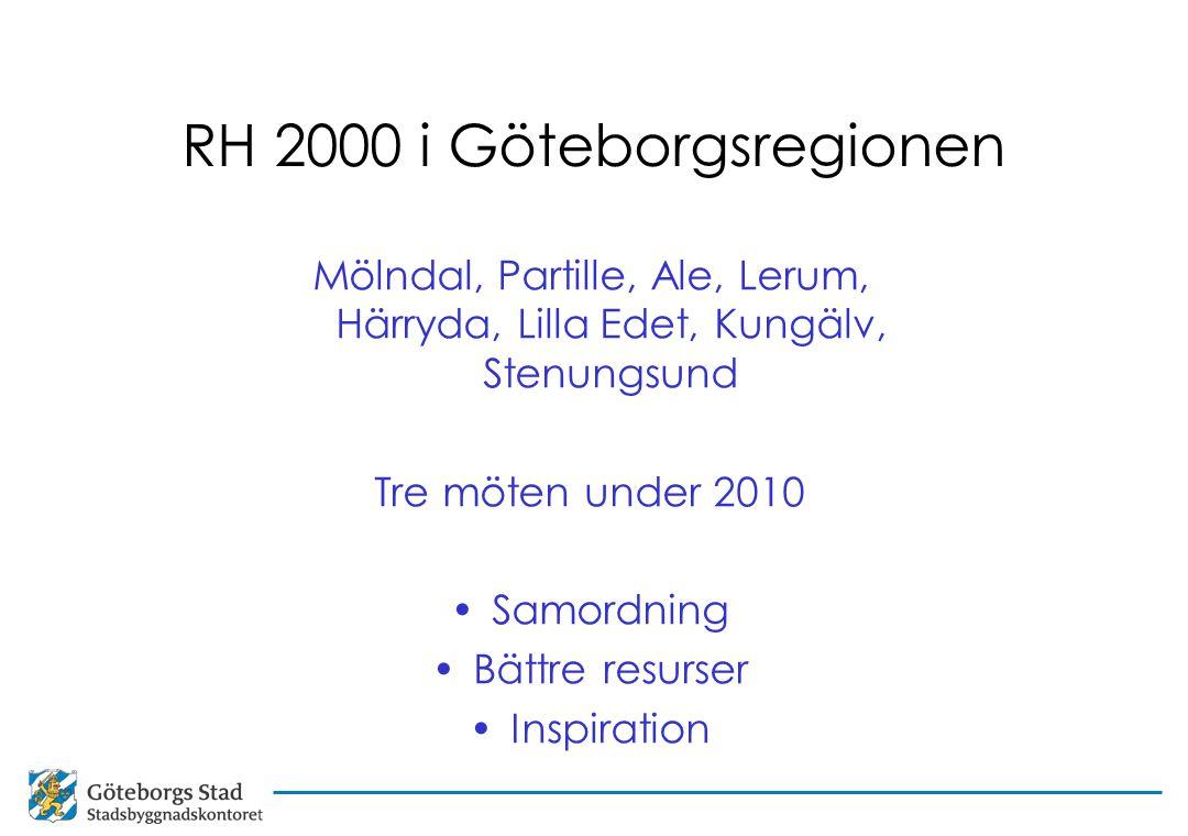 RH 2000 i Göteborgsregionen