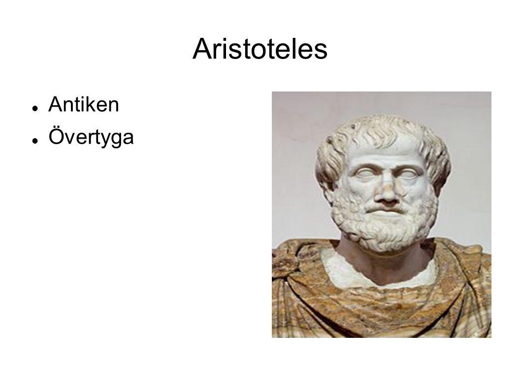Aristoteles Antiken Övertyga