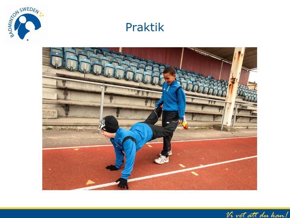 Praktik Ökad fokus/fördjupning på rörlighet och koordination (balans)