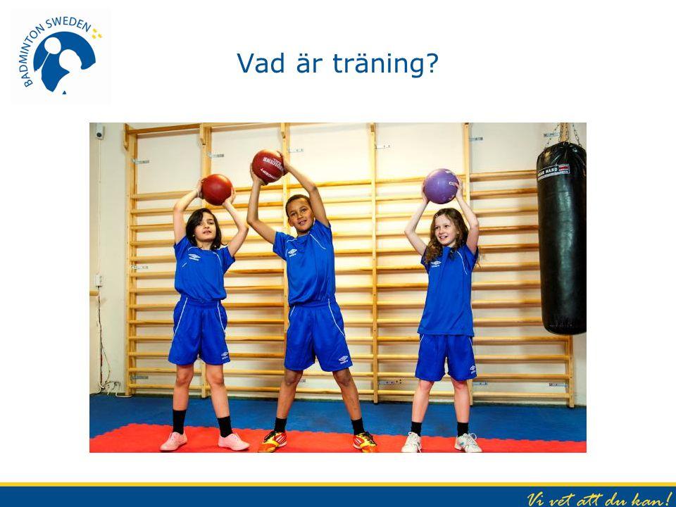 Vad är träning .