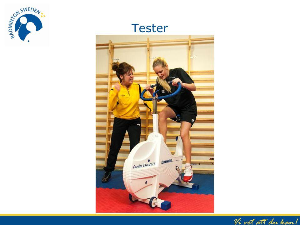 Tester Hjälper oss att utvärdera och hur vi ska lägga upp vår träning.