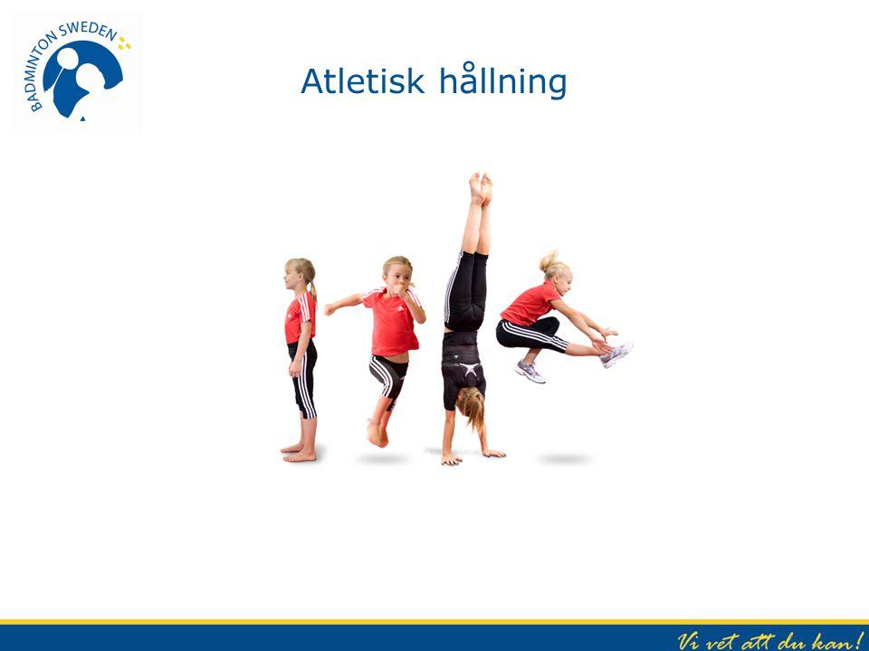 Atletisk hållning Atletisk hållning i alla rörelser