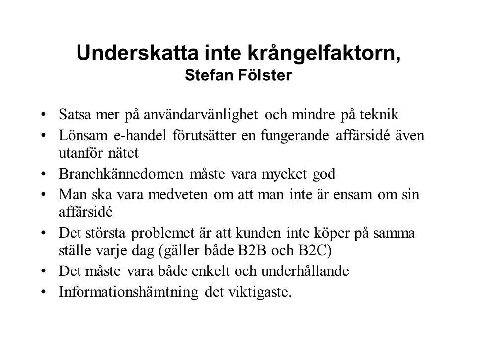 Underskatta inte krångelfaktorn, Stefan Fölster