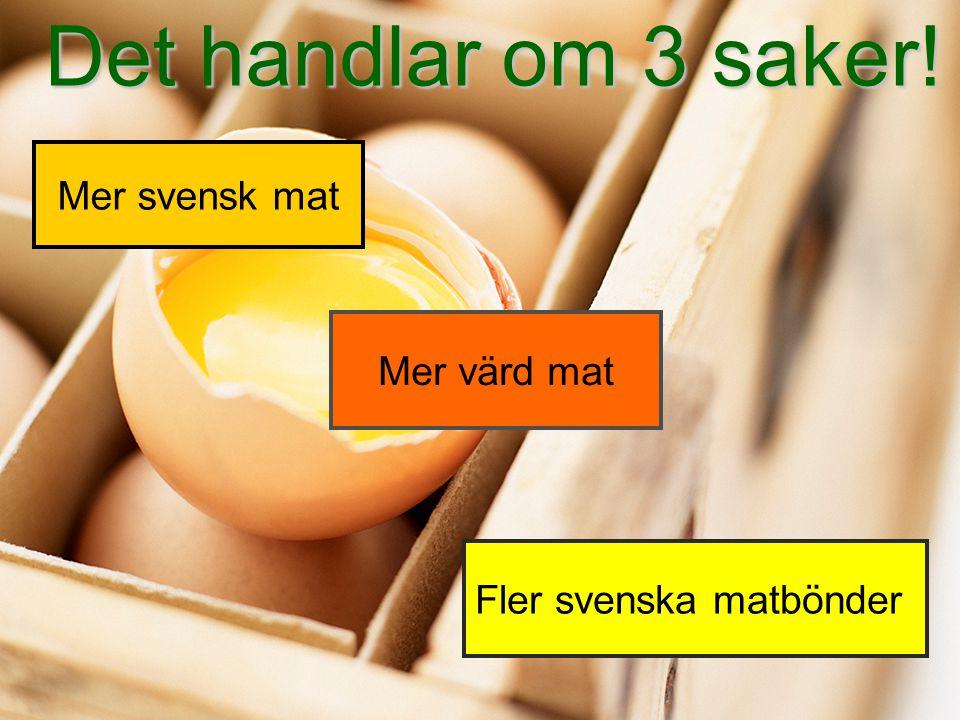 Fler svenska matbönder