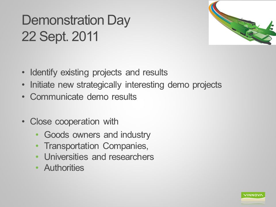 Demonstration Day 22 Sept. 2011
