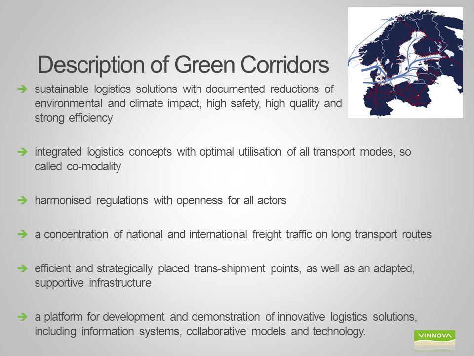 Description of Green Corridors