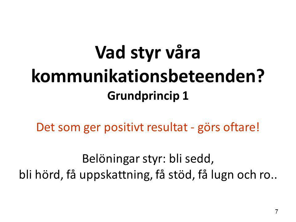 Vad styr våra kommunikationsbeteenden
