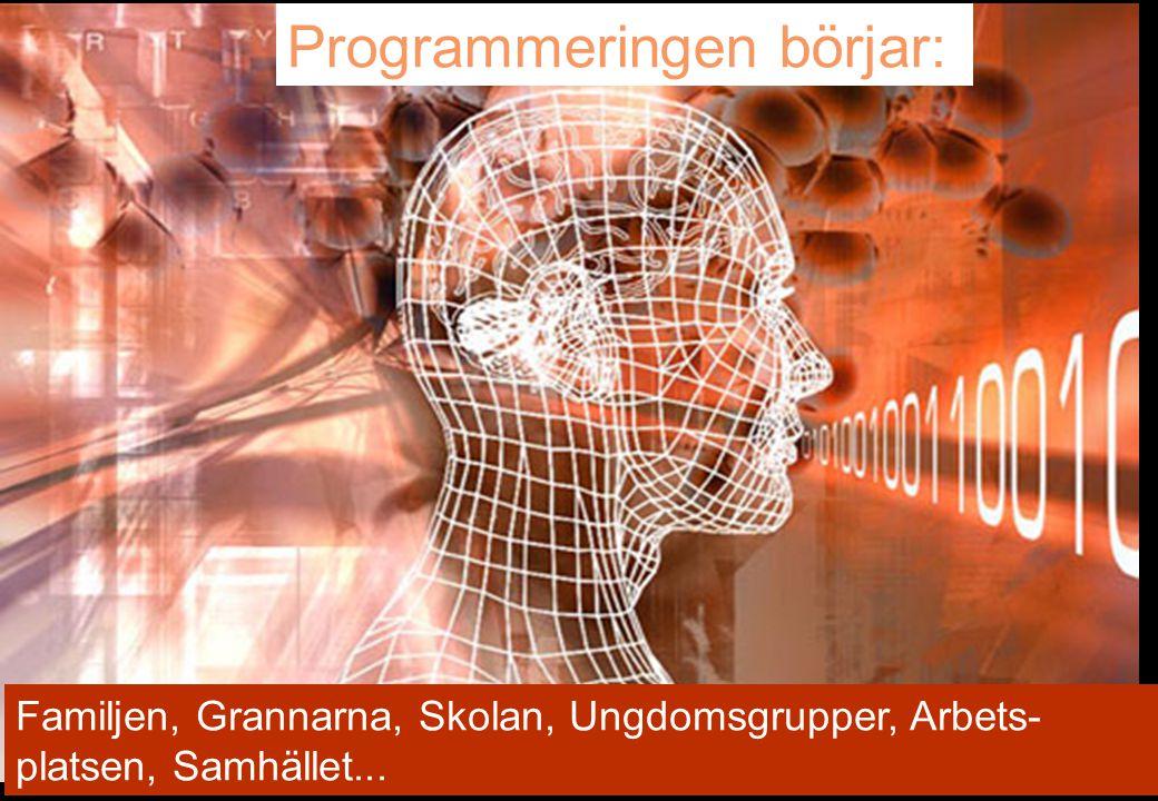 Programmeringen börjar: