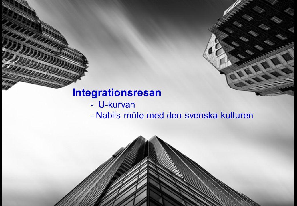Integrationsresan - U-kurvan - Nabils möte med den svenska kulturen