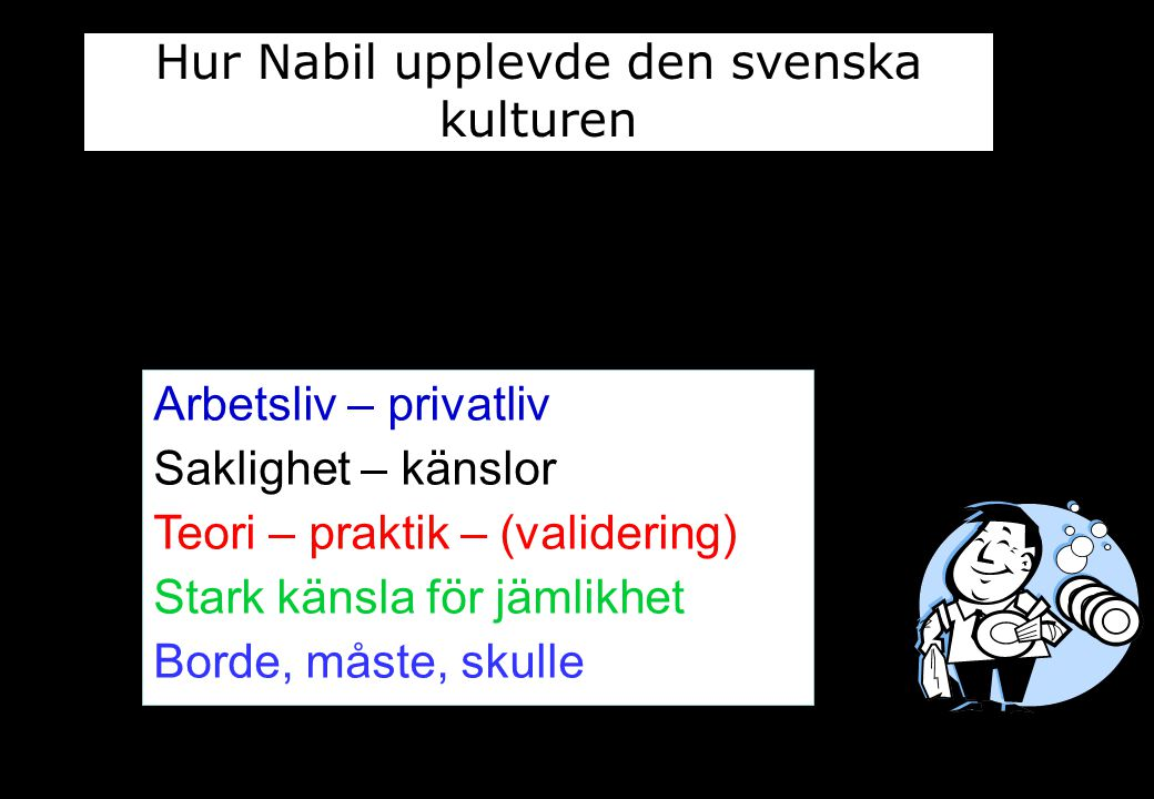 Hur Nabil upplevde den svenska kulturen
