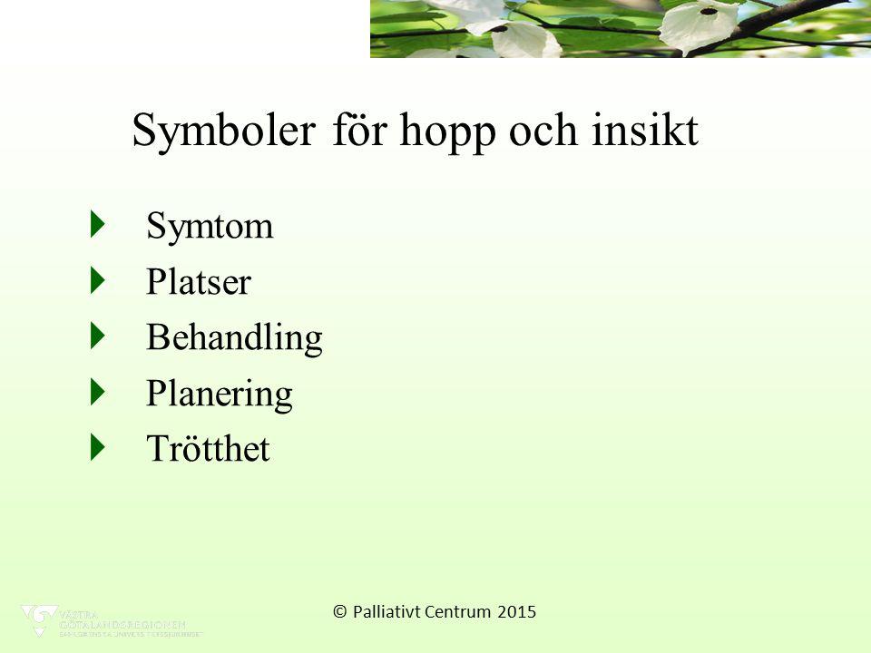 Symboler för hopp och insikt