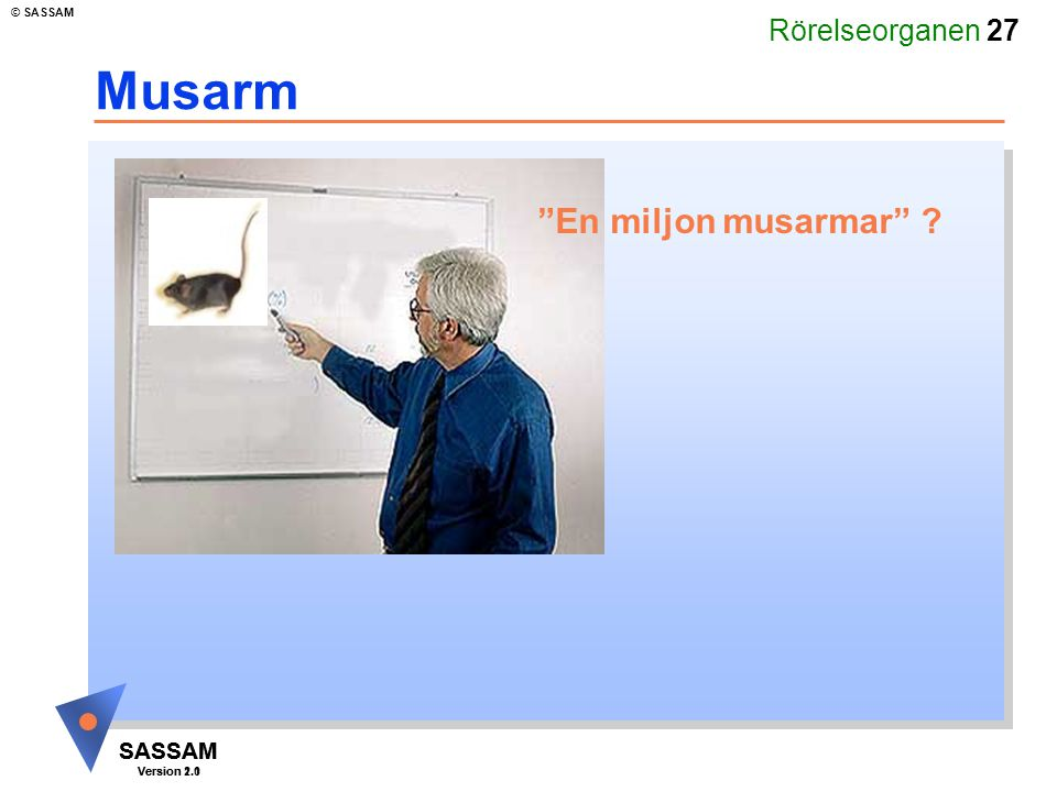 Musarm En miljon musarmar Kommentar: