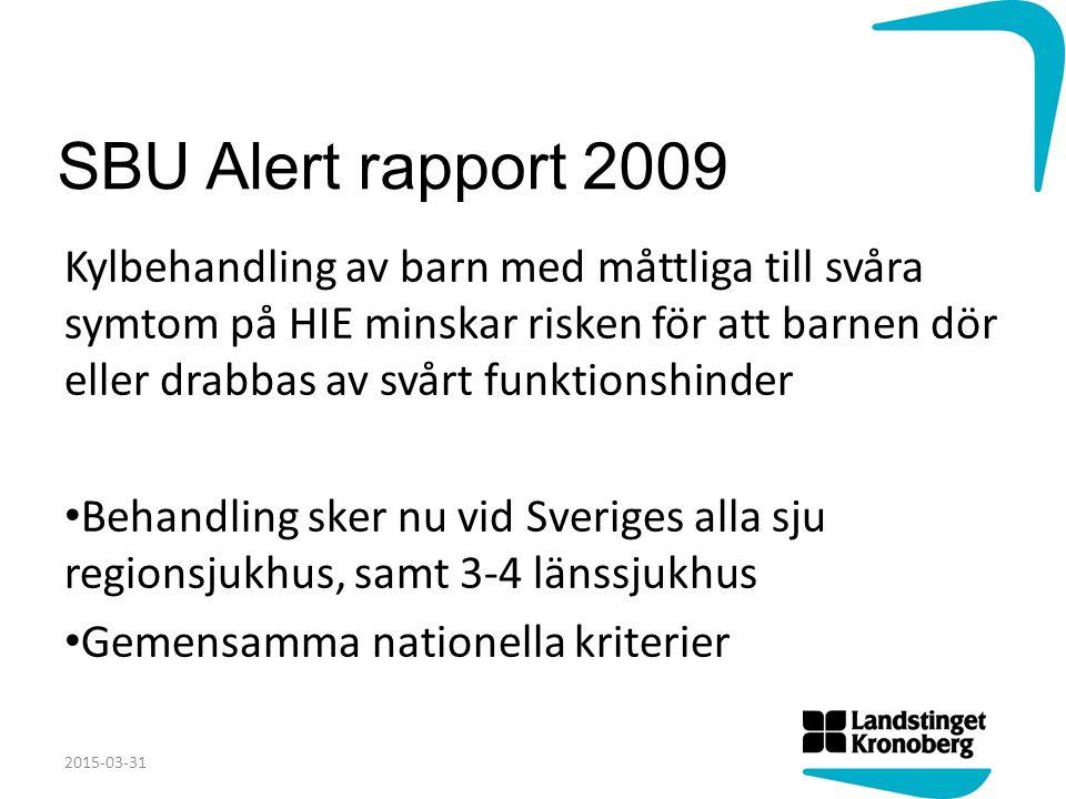 SBU Alert rapport 2009