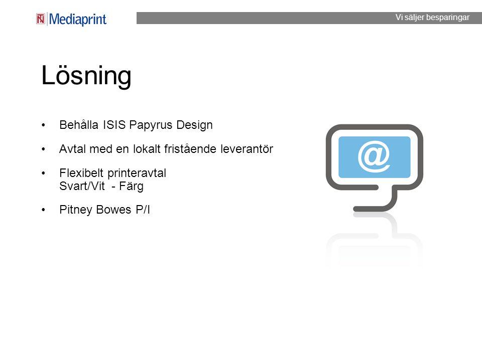 Lösning Behålla ISIS Papyrus Design