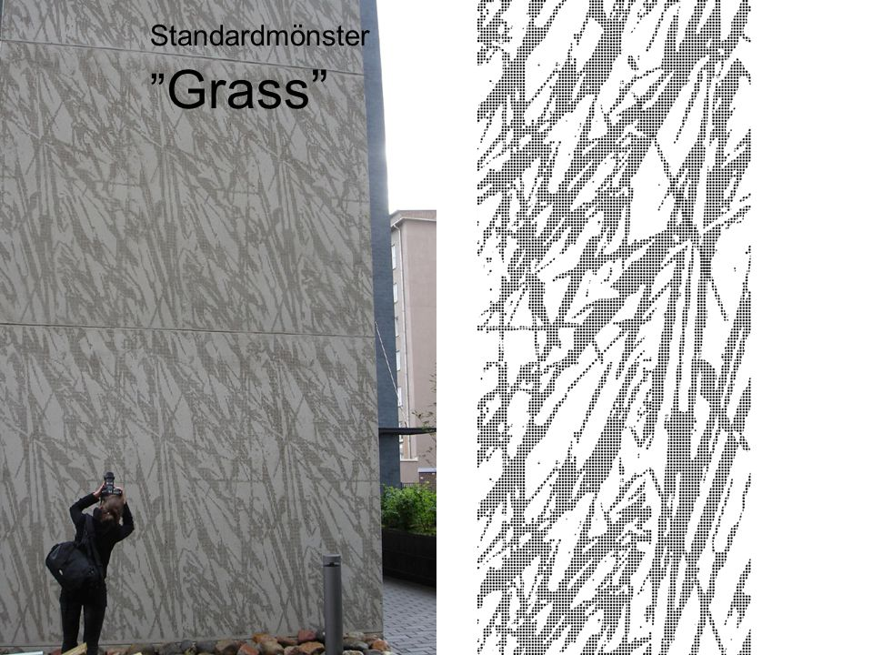 Standardmönster Grass