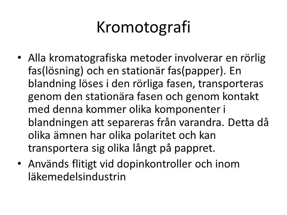 Kromotografi