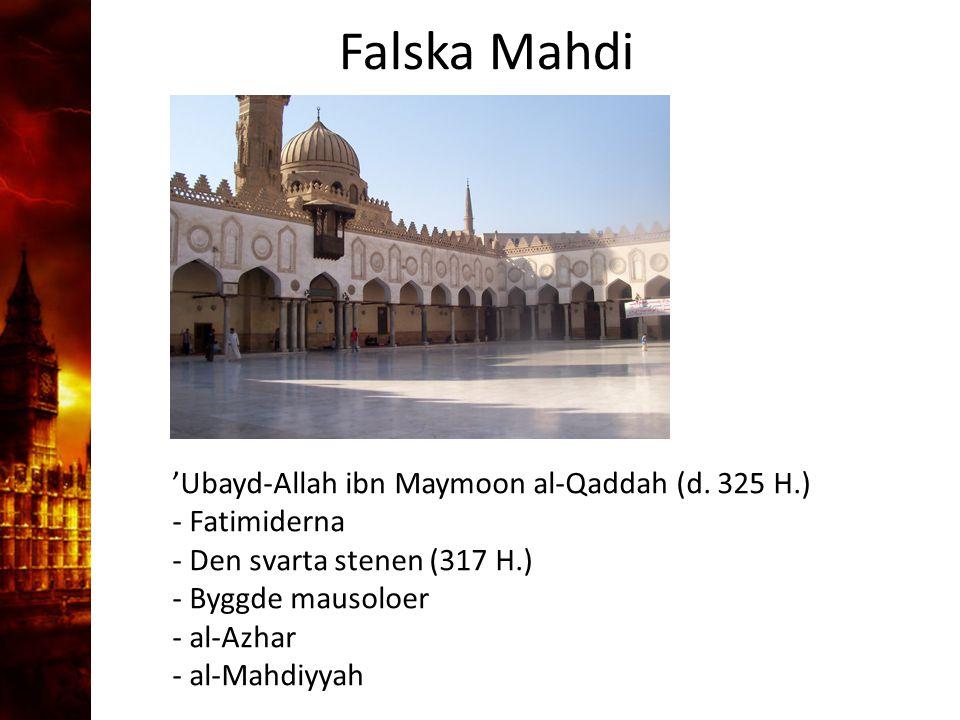 3. Delandet av månen Falska Mahdi
