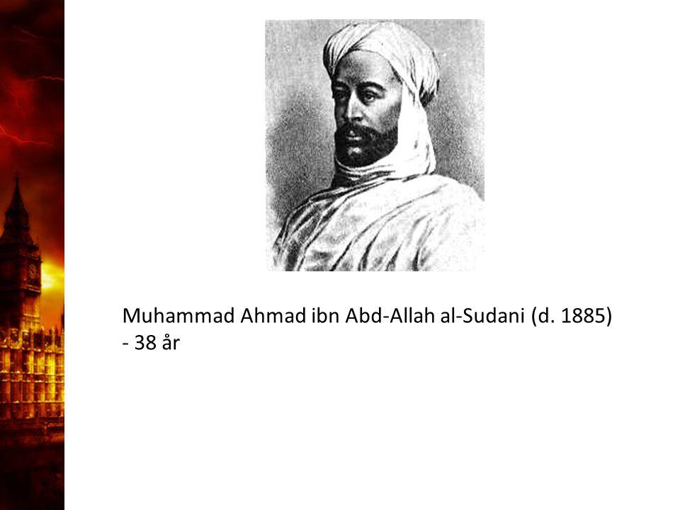 3. Delandet av månen Muhammad Ahmad ibn Abd-Allah al-Sudani (d. 1885)