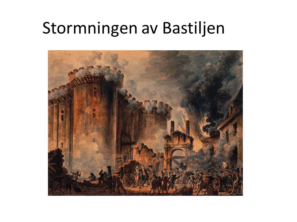 Stormningen av Bastiljen