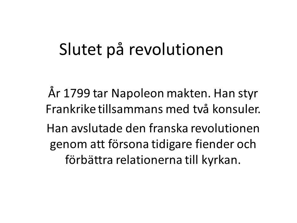 Slutet på revolutionen