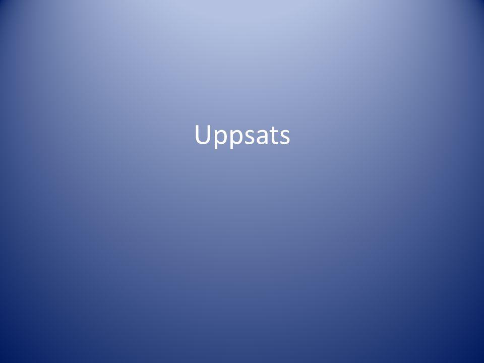 Uppsats