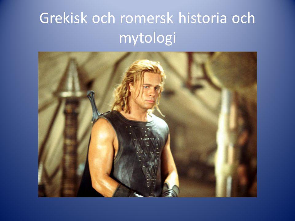 Grekisk och romersk historia och mytologi
