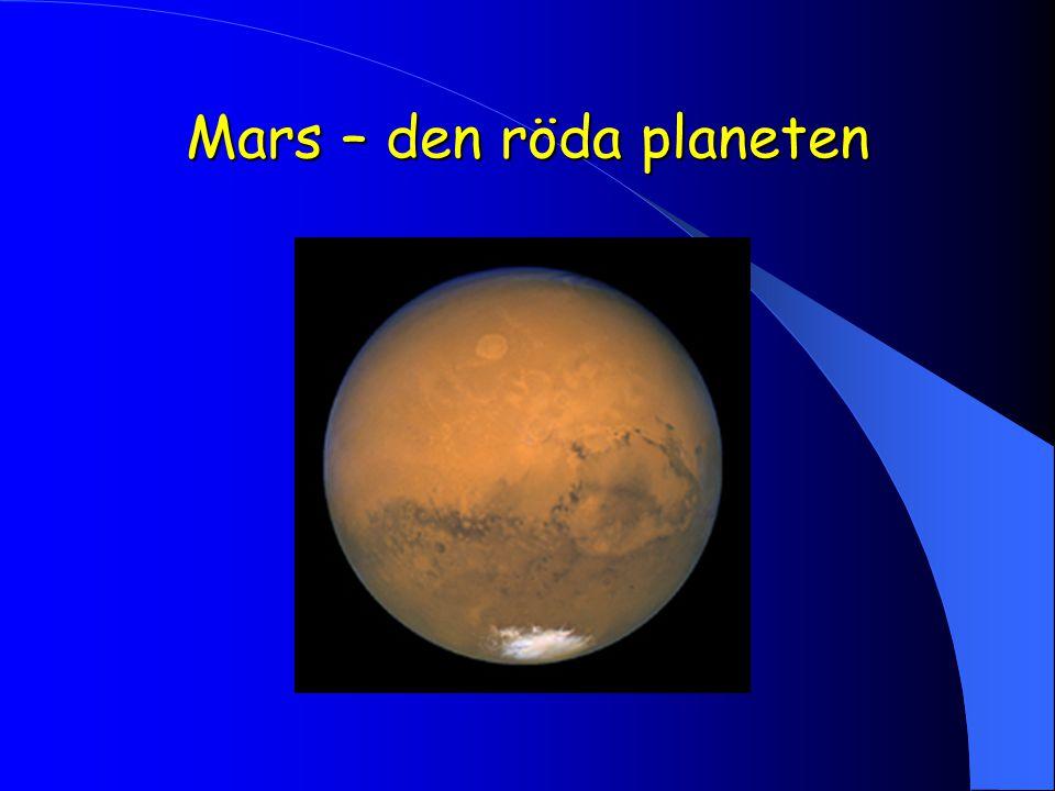 Mars – den röda planeten