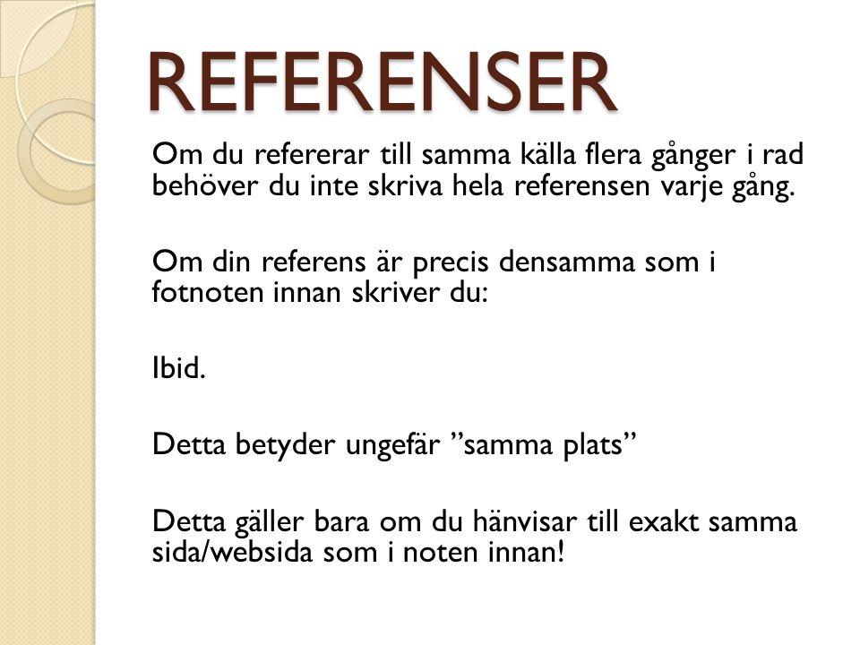 REFERENSER