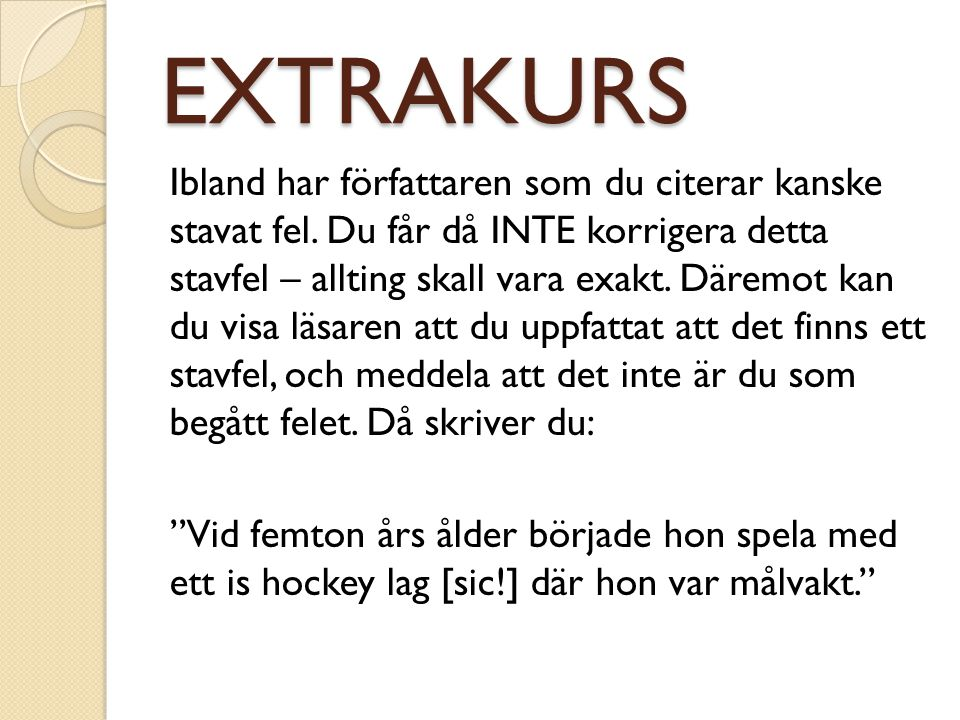 EXTRAKURS