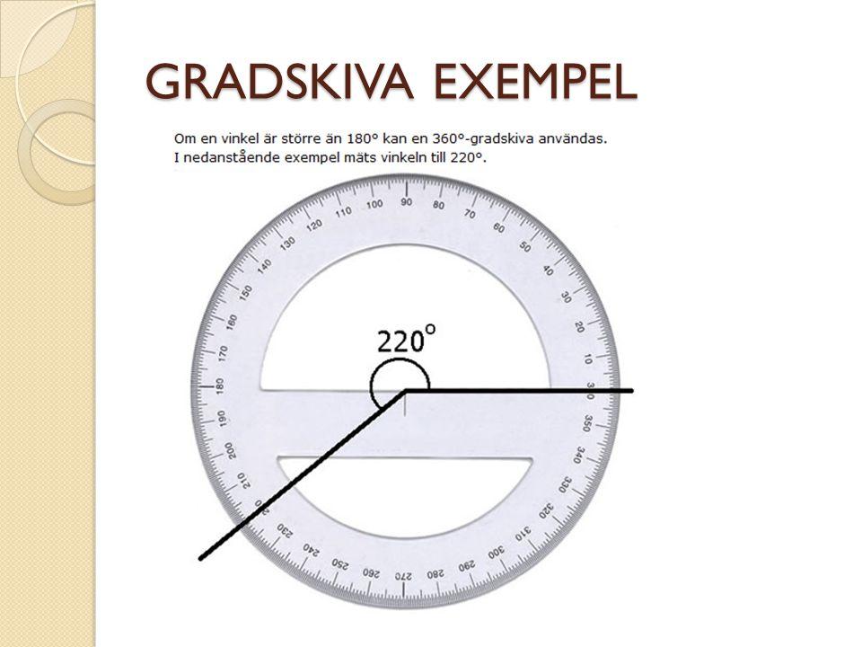 GRADSKIVA EXEMPEL