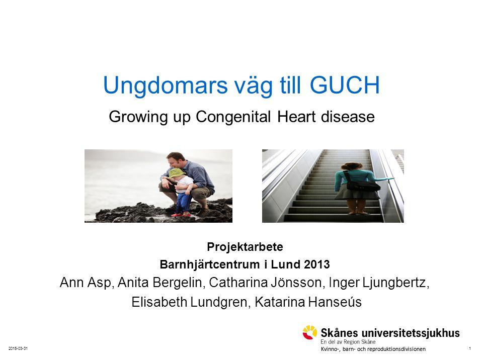 Ungdomars väg till GUCH Growing up Congenital Heart disease