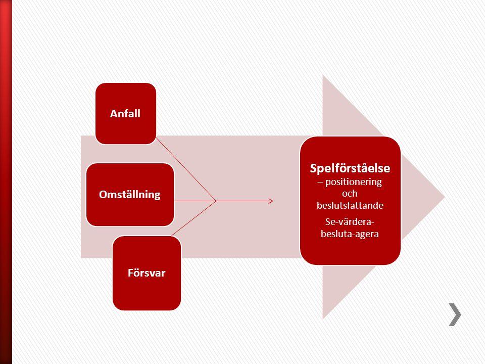 Spelförståelse – positionering och beslutsfattande