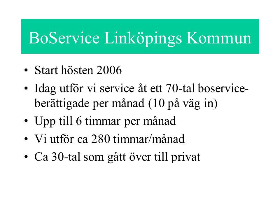 BoService Linköpings Kommun