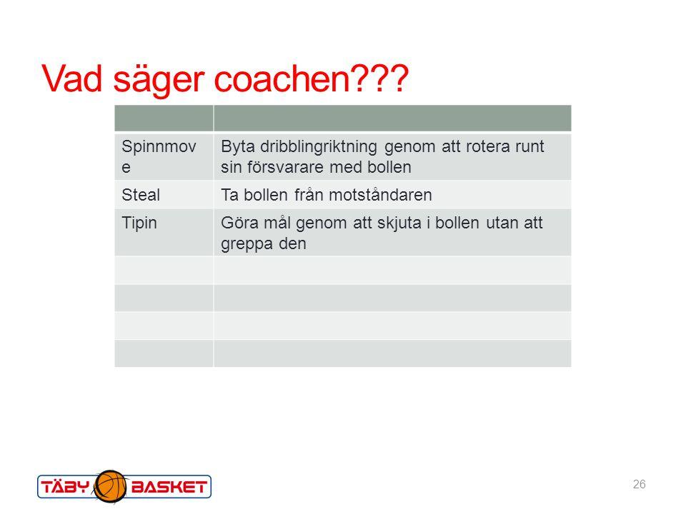 Vad säger coachen Spinnmove