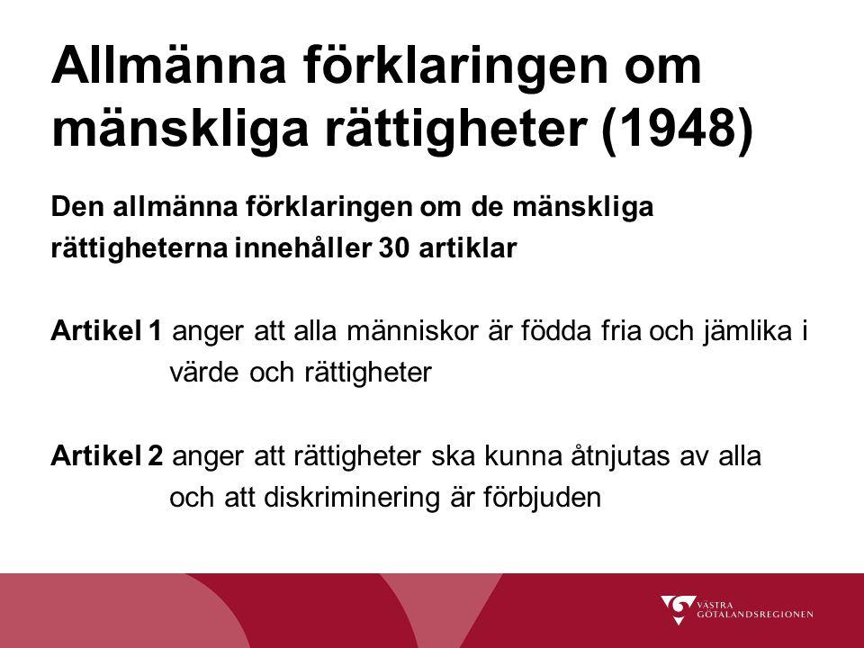 Allmänna förklaringen om mänskliga rättigheter (1948)
