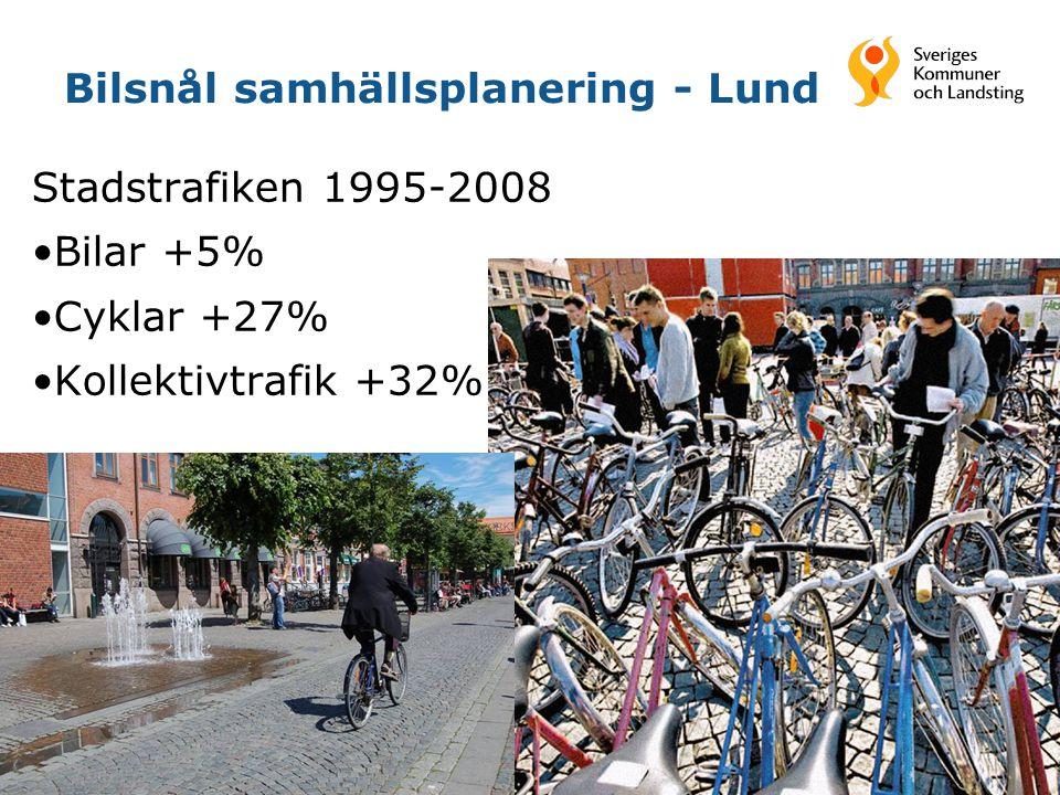 Bilsnål samhällsplanering - Lund