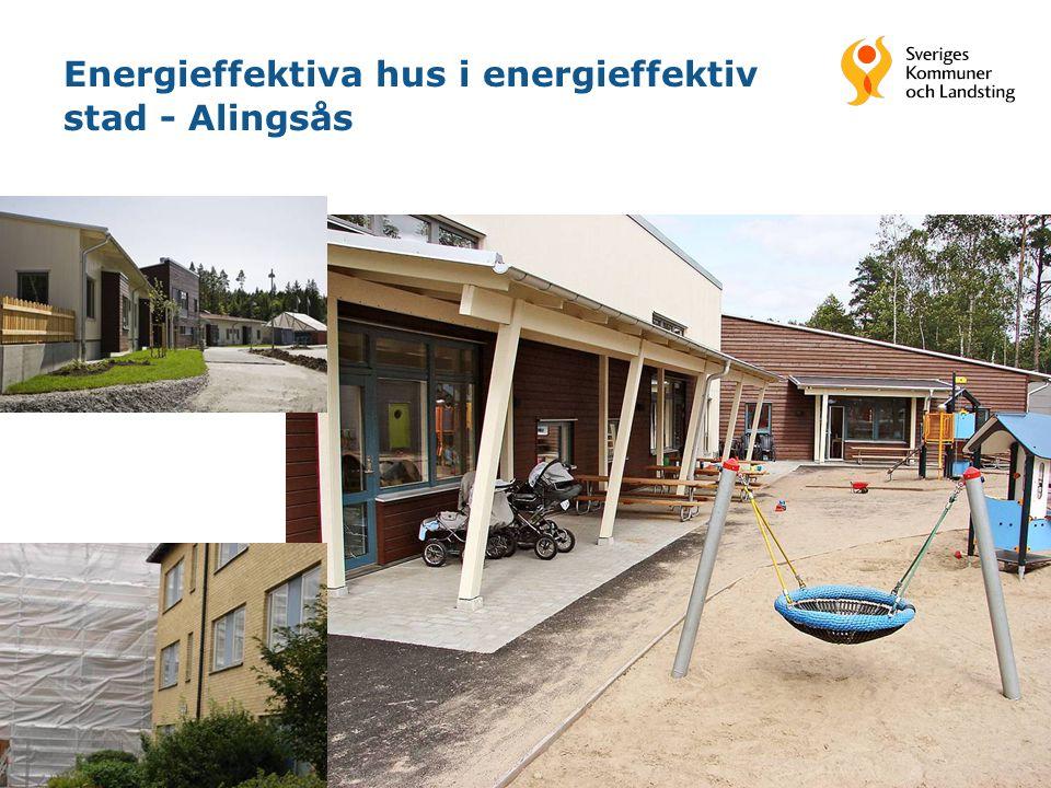Energieffektiva hus i energieffektiv stad - Alingsås