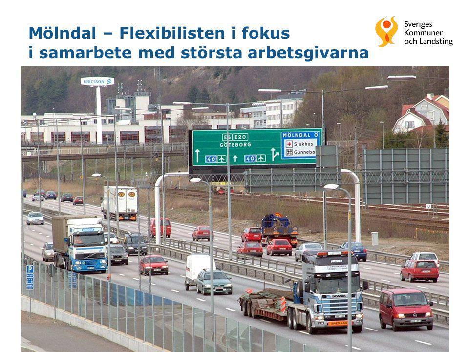 Mölndal – Flexibilisten i fokus i samarbete med största arbetsgivarna