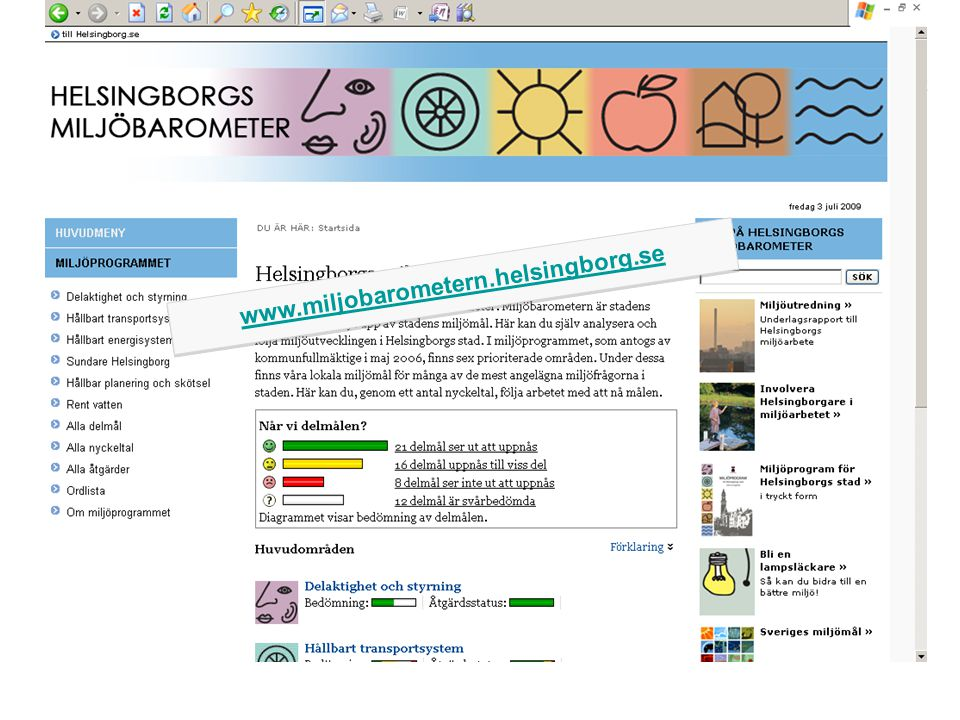 www.miljobarometern.helsingborg.se www.miljobarometern.helsingborg.se