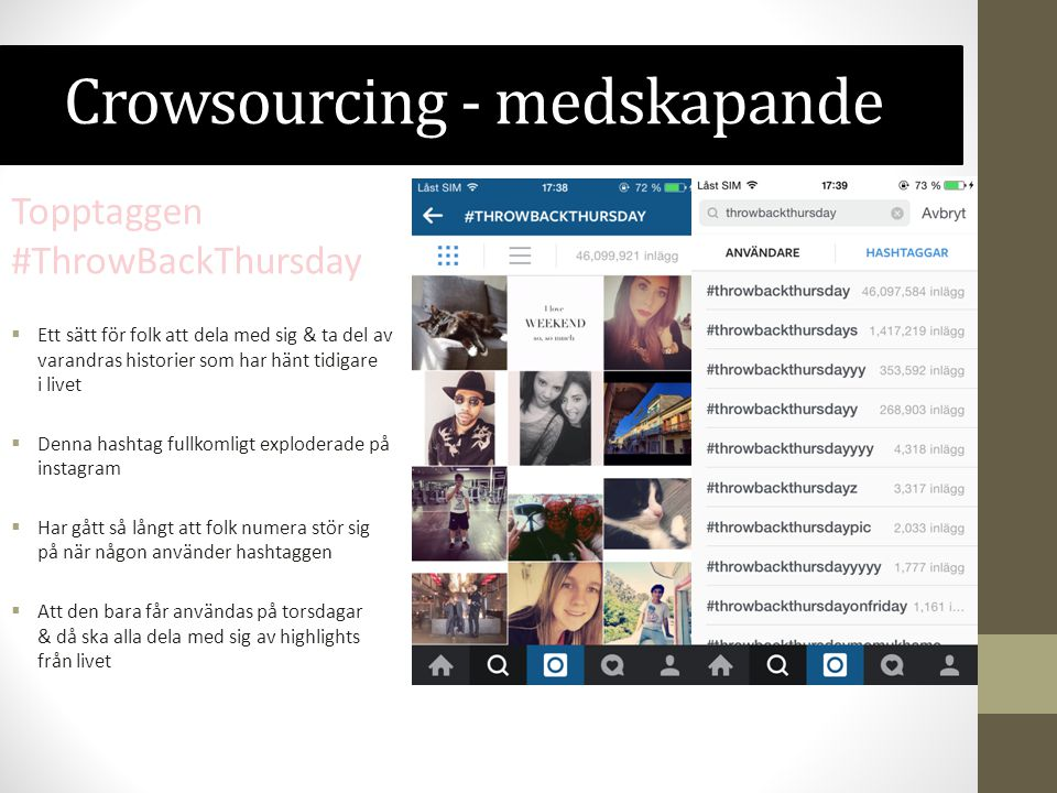 Crowsourcing - medskapande