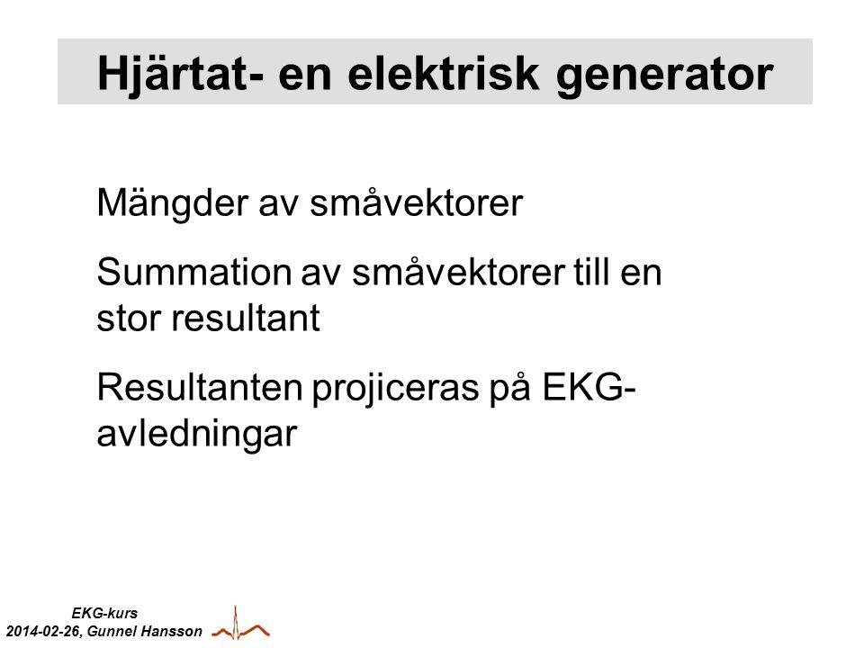Hjärtat- en elektrisk generator