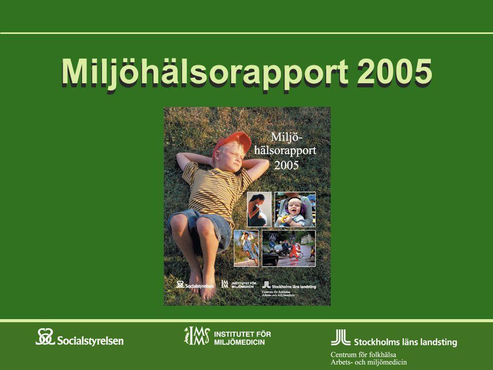 Miljöhälsorapport 2005 Miljöhälsorapport 2005