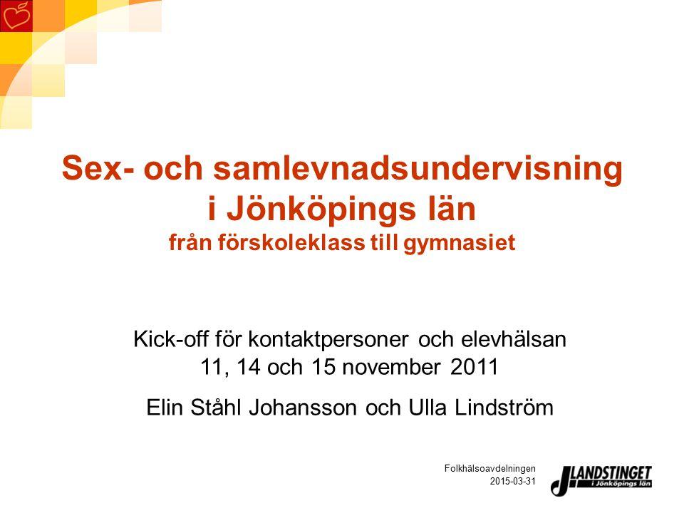 Elin Ståhl Johansson och Ulla Lindström