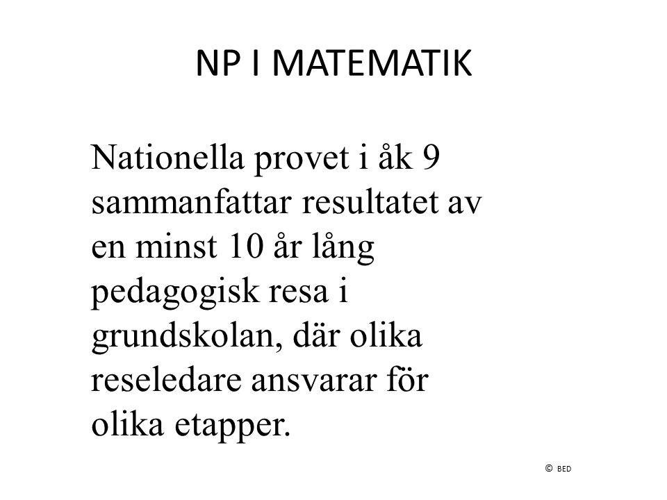 NP I MATEMATIK
