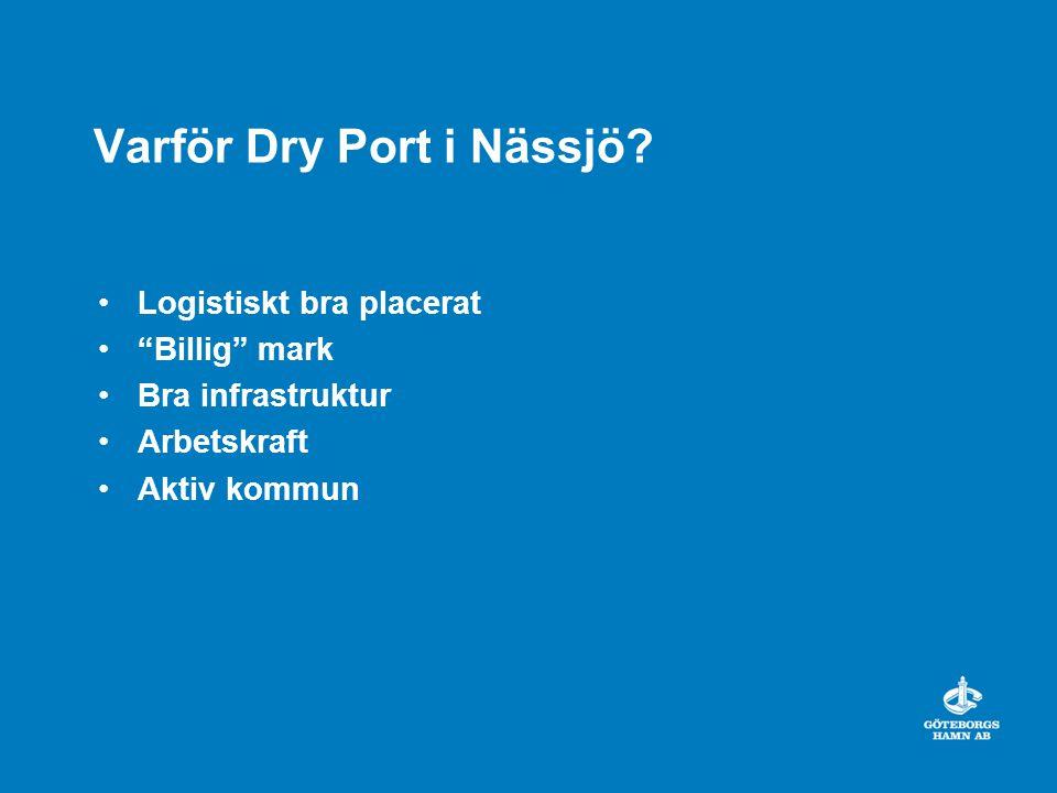 Varför Dry Port i Nässjö
