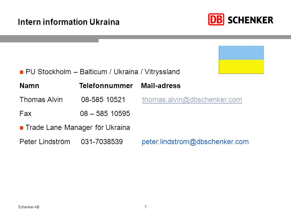 Intern information Ukraina