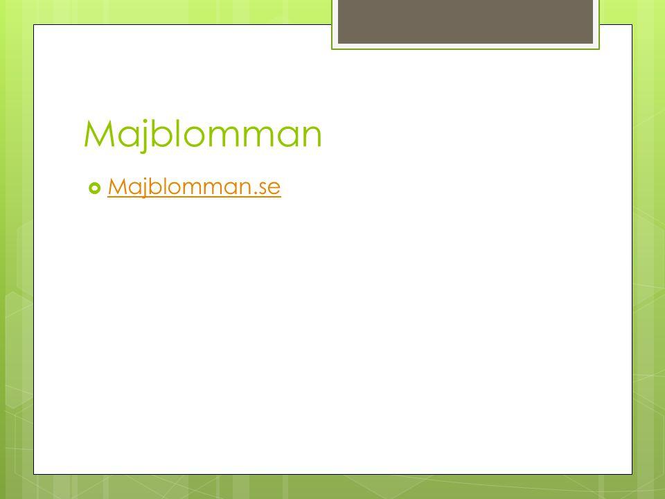 Majblomman Majblomman.se